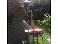 Patio garden heater