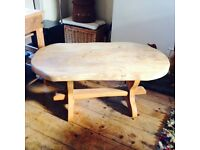 Solid Pine Coffee Table Funky Chunky