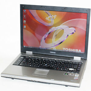 Toshiba Tecra A9 Laptop Core2 Duo WiFi 2GB RAM 60GB DVDRW 15.4""