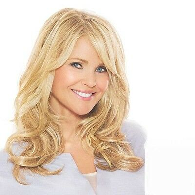 Trendy Blonde Hair Long Capless Bouffant Wavy Wig For Women