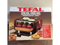 Tefal Four Grill/Compact Cooker - brand new- ideal for student.