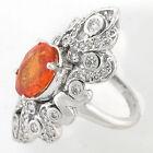 Mandarin Garnet Fine Rings
