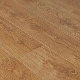 Brand new oak laminate flooring