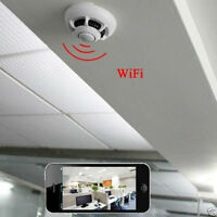 Smoke Detector WiFi Camera Video Wireless IP Camera DVR Spy