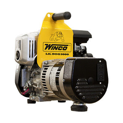 Winco W3000h Industrial Series Portable Generator 3000 Watt Gas 120v Honda 3000w