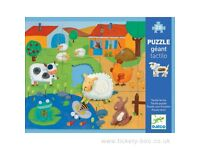 20 PIECE PUZZLE 8 FARM ANIMALS TEXTURES BOYS GIRLS TOY GIFT 3+