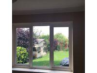 White double glazing window