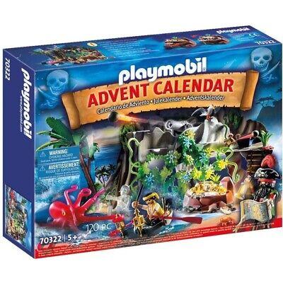Pirate Cove Treasure Hunt for the advent calendar Product set No 70322 Playmobil