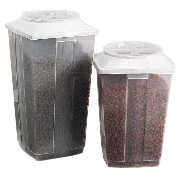 Pet Food Storage Vittles Vaults Nested Containers Dog Rescue