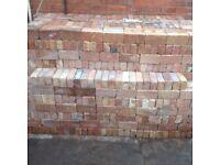 "3"" x 9"" reclaimed hand made bricks"
