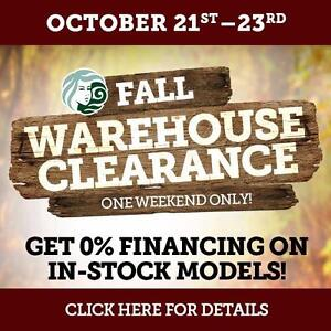 Beachcomber Hot Tubs Fall Warehouse Clearance!!