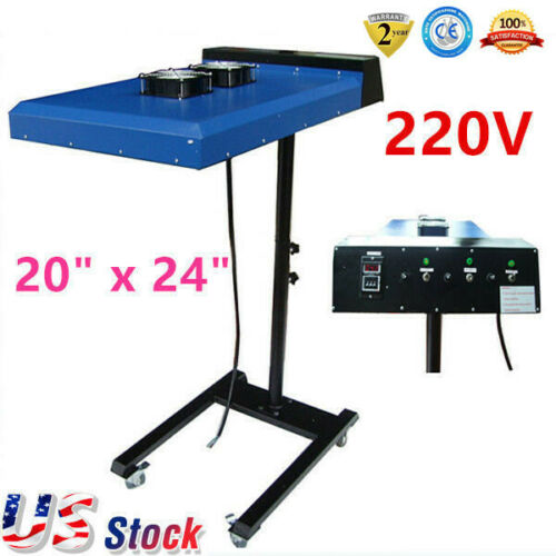 "6000W 20""x24"" Automatic Infrared IR Flash Dryer with Sensor for Screen Printing"