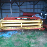Hay machinery for sle