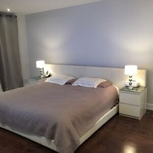 Lit maison corbeil bed full bedroom chambre coucher for Chambre a coucher montreal