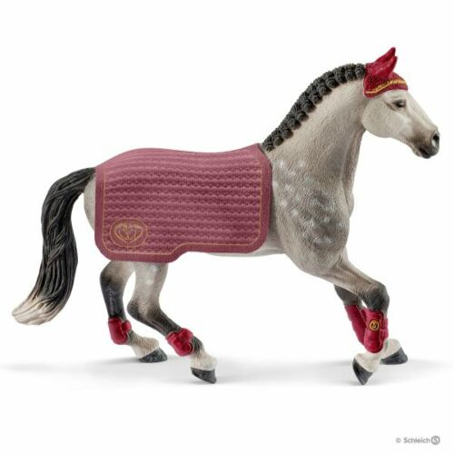 <>< Trakehner mare riding tournament 42456 by Schleich  Stunning  strong tough
