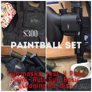 Paintball Starter Kit