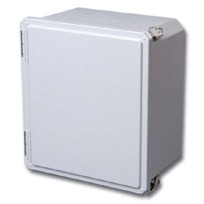 Stahlin Electrical Fiberglass Enclosurediamondshield Ds80804hpl 8x8x4 And Panel