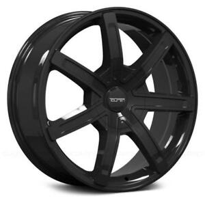 ***PROMOTION*** MAGS NEUFS 18'' 6 X 135 / 6 X 139.7 TOUREN TR65 GLOSS BLACK (4 DE DISPONIBLES)