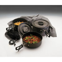 Texsport The Scouter Hard Anodized Cook Set - Non-stick