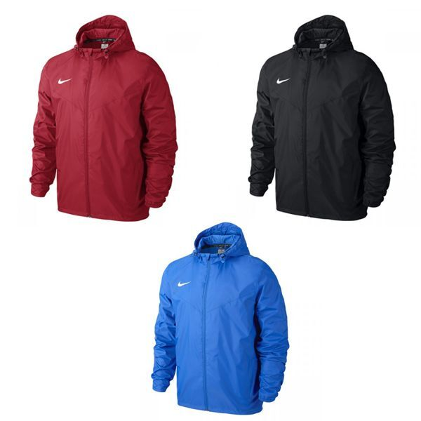49ca165e1f1306 Nike Team Sideline Rain Jacket Senior - Zipped Waterproof Coat w  Hood -  645480 фото