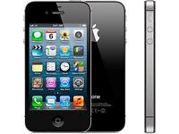 Iphone 4s 8gb black unlocked
