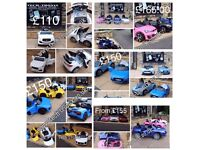 Offical Ride-On Cars From £85, Parental & Self Drive, Over 30 Cars On Display