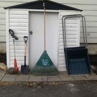 outils pour l'extérieur