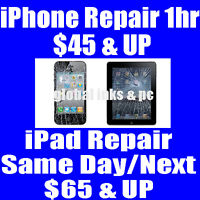 Cracked Phone 1 Hr Repair Starting from $45 & Up