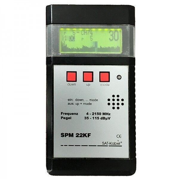 Signal-Pegelmessgerät - SPM 22 KF