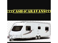 £££CASH 4 CARAVANS SAME DAY COLLECTION BEST PRICES PAID £££
