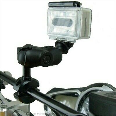 Motorcycle Bike Crossbar Camera mount for the Go Pro Hero