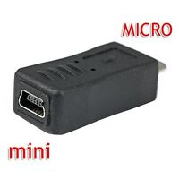 For Sell Mini-B Female 5 Pins to USB 2.0 Micro-B Male Adapter Co