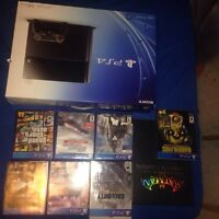 PS4 bundle limited edition games 600$