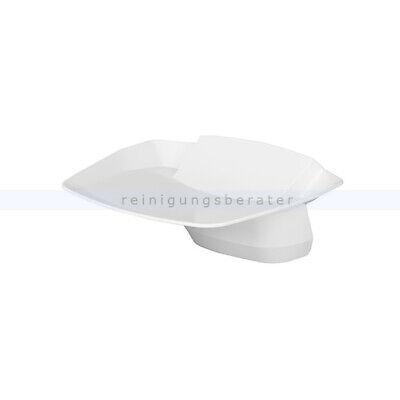 Abtropfschale für Eurospender RX5 touchless klickbare Schale Kunststoff weiß