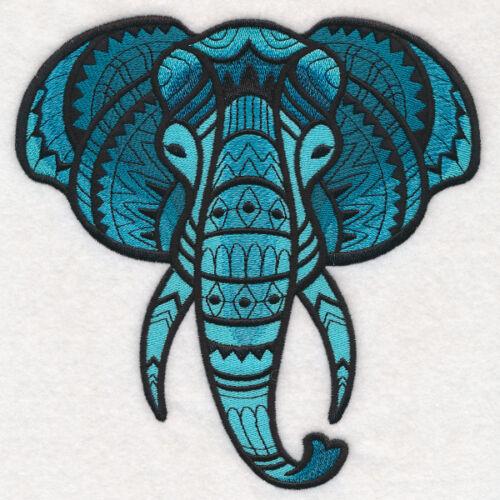 Embroidered Sweatshirt - Majestic Elephant M14487
