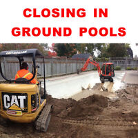 INGROUND POOL FILLING SERVICE