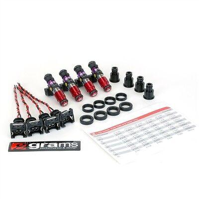 GRAMS 1150CC FUEL INJECTOR SET FOR 88-01 HONDA B16/B18/B20/D15/D16/F22A/F22B/H22
