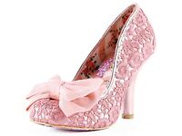 Irregular Choice - Mal E Bow Heels, Sizes UK 4, 5 and 6 available, Original RRP £80, BRAND NEW