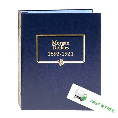 Album For Morgan Silver Dollars $ 1892-1921 Coins Whitman Classic 9129 New FAST