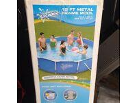 12 ft metal frame pool