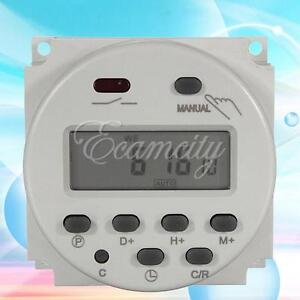 220V-LCD-Digital-Power-PROGRAMMATORE-ORARIO-TIMER-INTERRUTTORE-Time-Switch