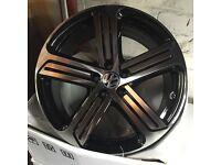 "VW Vw golf R Cadiz alloy wheels 19"" Christmas offer!! Tyres 5112"