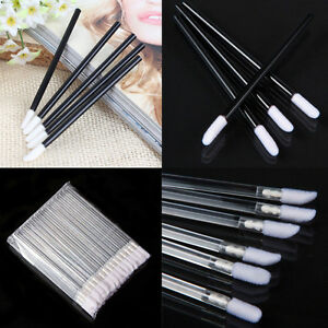 50-100-Salon-Pro-Disposable-Lipstick-Gloss-Wands-Lip-Stick-Brush-Applicator-Tool