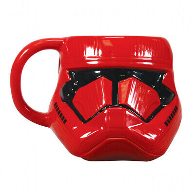 OFFICIAL STAR WARS RED SITH TROOPER RISE OF SKYWALKER COFFEE MUG CUP NEW BOXED