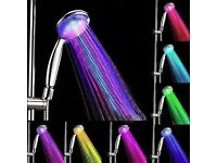 LED Multicolor lightup Shower head