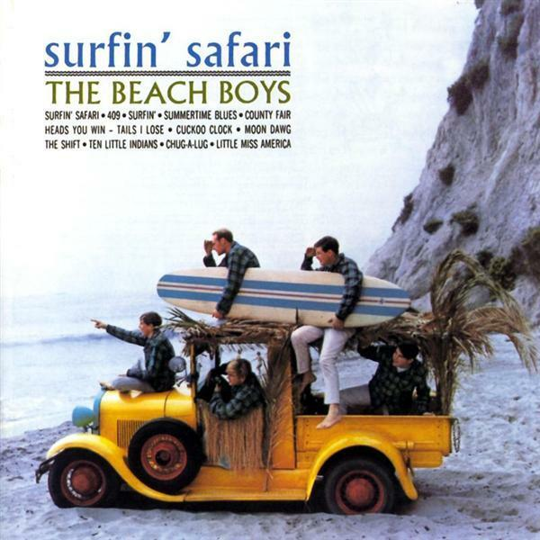 THE BEACH BOYS Surfin' Safari/Surfin' U.S.A CD BRAND NEW Bonus Tracks USA