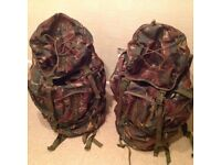 Highlander Forces 66 Rucksacks x 2