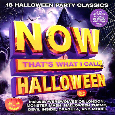 Now That's What I Call Halloween 2 x LP Color Vinyl Party Classics Monster Mash - Monster Mash Halloween Party