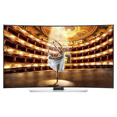 Samsung UN55HU9000 Curved 55-Inch 4K Ultra HD 120Hz 3D Smart LED HDTV**NEW**