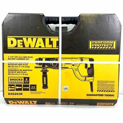 New Dewalt 1-18 D-handle Sds Plus Rotary Hammer Kit
